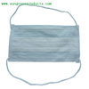Nonwoven headloop face mask