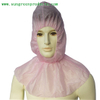 Disposable balaclava hood with cape